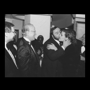 Gucci Galleria Reception with Luciano Pavarotti, New York, 1984
